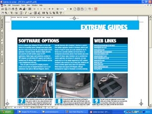 PC Extreme Issue 16 How To Make A CarPC / Carputer P49 - Follow the Vauxhall Vectra Carputer / CarPC Project through the highs and lows. Ideal for those looking at a simular MP3 GPS multimedia system for their car - Carputer project computer in-car Car-Puter car-pc car pc multimedia system mp3 dvd vcd svcd video games sound xenarc 700ts 7 inch touchscreen mini itx case winamp talisman invertor inverter usb ups welcome wireless LAN network VIA eden C3